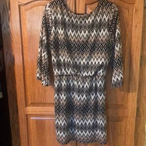 City Triangles Dresses - City Triangle Size XL Quarter Sleeve